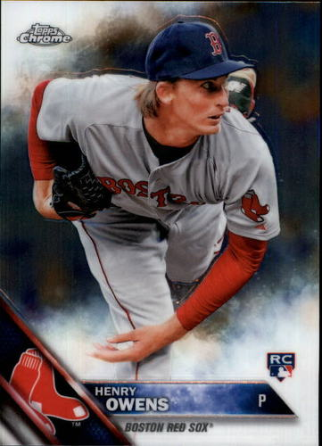Photo of 2016 Topps Chrome #133 Henry Owens RC