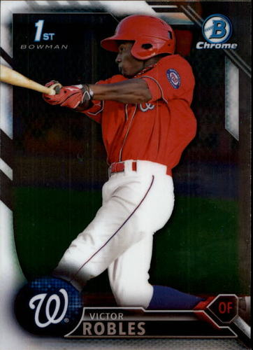 Photo of 2016 Bowman Chrome Prospects #BCP10 Victor Robles