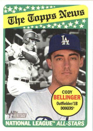 Photo of 2018 Topps Heritage #298 Cody Bellinger