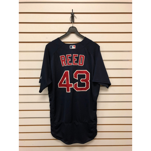 Photo of Addison Reed Team-Issued 2017 Road Alternate Jersey