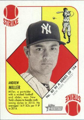 Photo of 2015 Topps Heritage '51 Collection #80 Andrew Miller