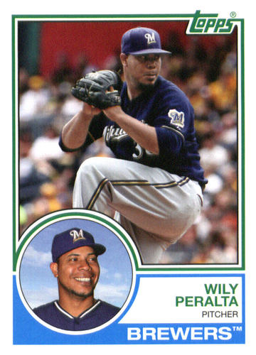 Photo of 2015 Topps Archives #204 Wily Peralta