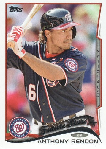 Photo of 2014 Topps #521 Anthony Rendon