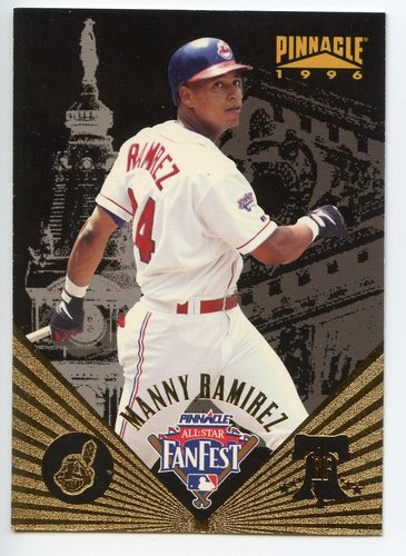 Photo of 1996 Pinnacle FanFest #24 Manny Ramirez
