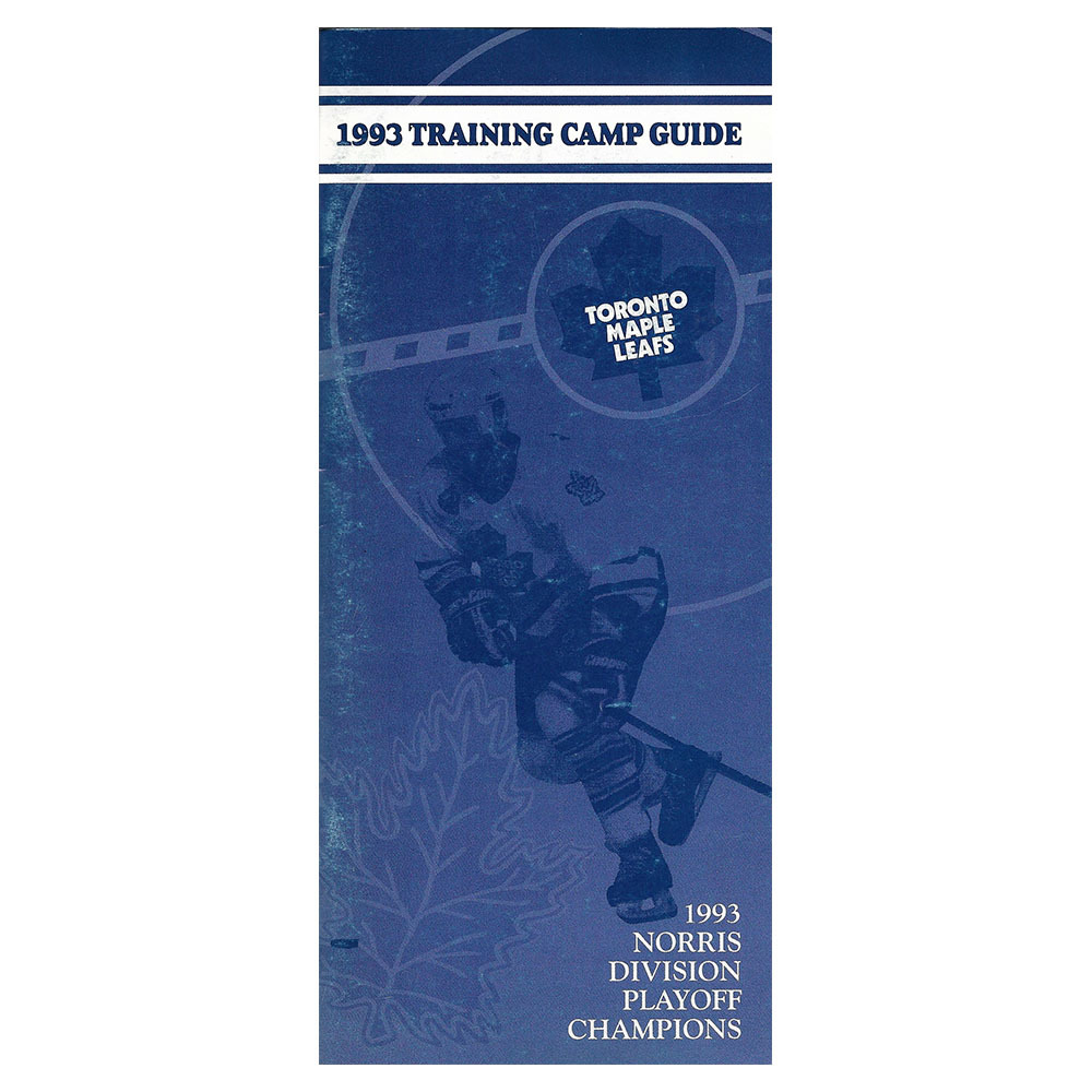 1993 Toronto Maple Leafs Training Camp Guide