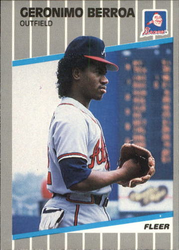 Photo of 1989 Fleer Update #72 Geronimo Berroa