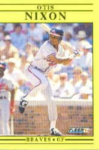Photo of 1991 Fleer Update #75 Otis Nixon