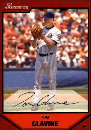 Photo of 2007 Bowman #198 Tom Glavine