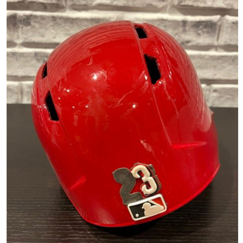 Photo of Cody Reed -- Team-Issued Helmet -- Right Ear Flap -- Size 7 1/4