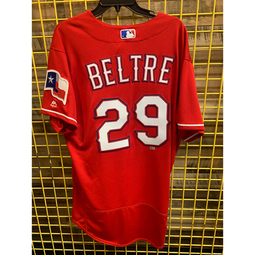 Photo of *RARE* 2017 Team-Issued Texas Rangers Red Jersey - Adrian Beltre