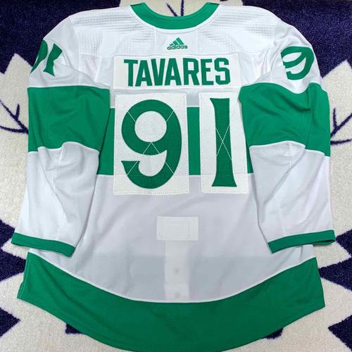 John Tavares 2018-19 St. Pats Set 1 Game Worn Jersey