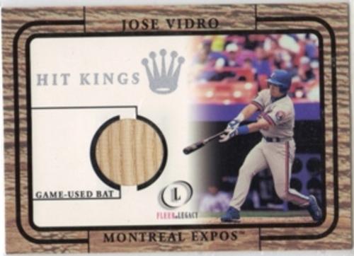 Photo of 2001 Fleer Legacy Hit Kings #29 Jose Vidro