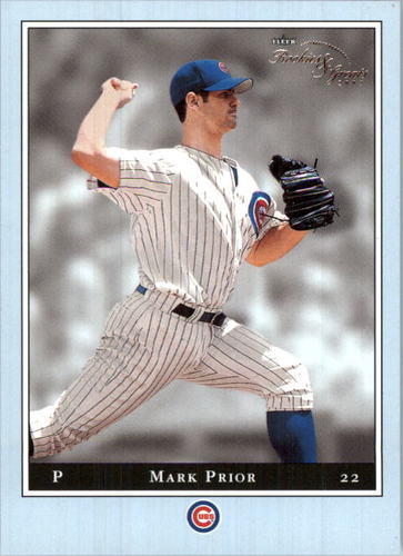 Photo of 2003 Fleer Rookies and Greats Blue #4 Mark Prior