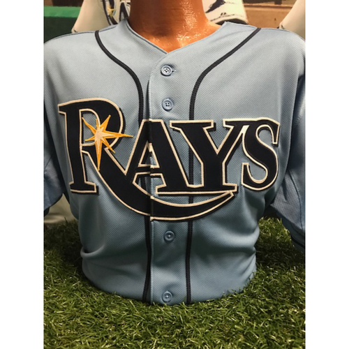 2017 Opening Day Game-Used Jersey: Kevin Kiermaier
