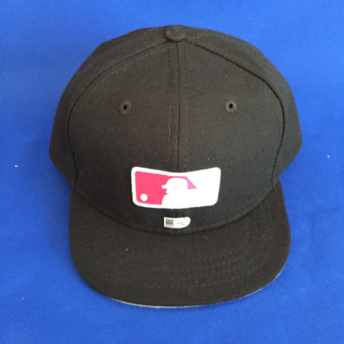 UMPS CARE AUCTION: Game Worn Mother's Day Umpire Cap Size 7 5/8