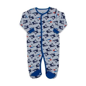 Toronto Blue Jays Newborn Logo Sleeper by Snugabye