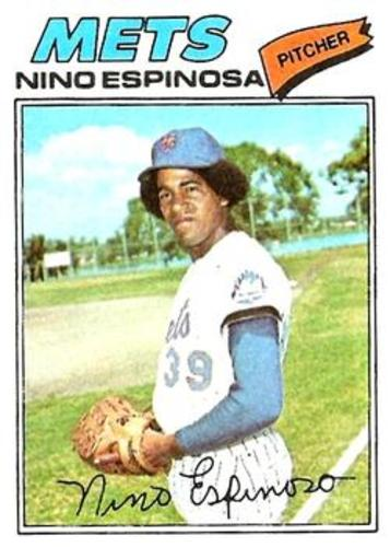 Photo of 1977 Topps #376 Nino Espinosa RC