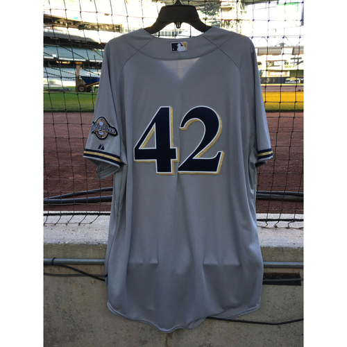 2012 Shaun Marcum Game-Worn Jersey