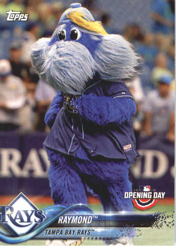 Photo of 2018 Topps Opening Day Mascots #M23 Raymond
