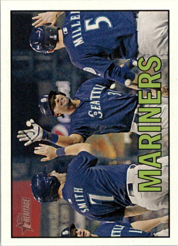 Photo of 2016 Topps Heritage #354 Seattle Mariners