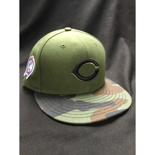 Photo of Dilson Herrera - Game-Used - Military Appreciation Hat (Worn: 2018)
