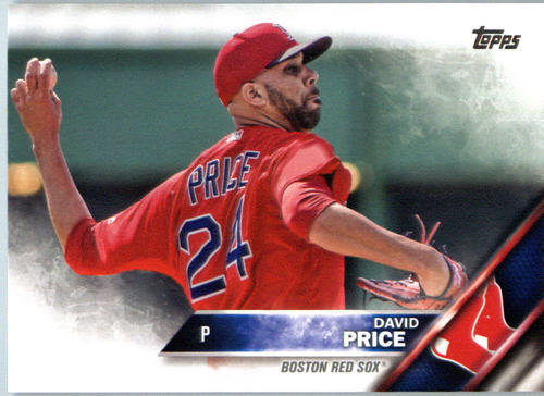 Photo of 2016 Topps #450A David Price