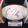 Panthers - C. J. Anderson Signed Panel Ball