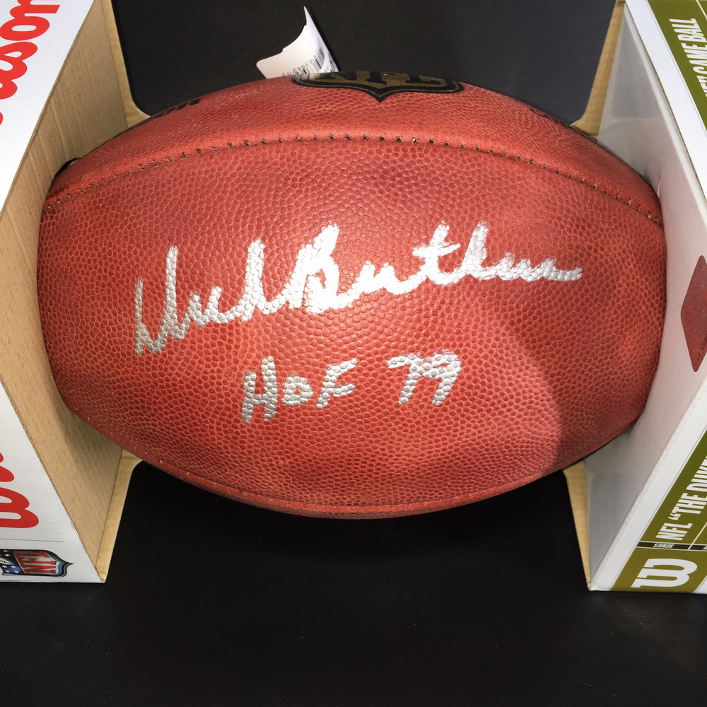 PCC - Bears Dick Butkus Signed Authentic Football