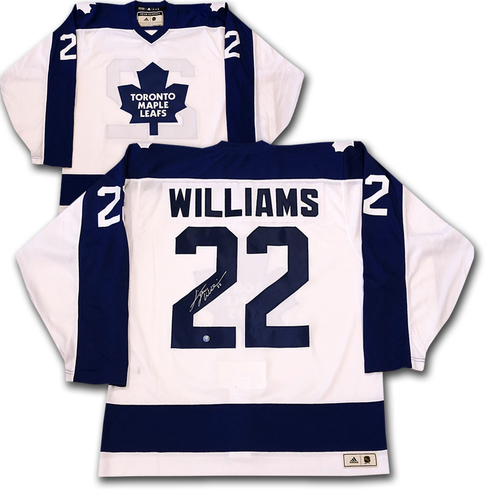 online store 823d1 73822 Dave TIGER Williams Toronto Maple Leafs adidas Team Classics ...
