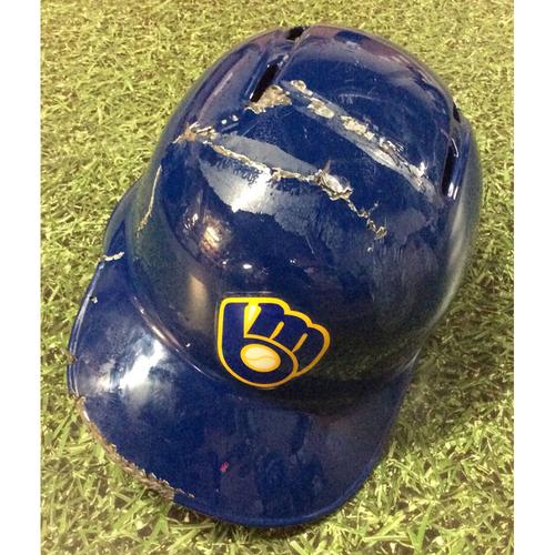 Photo of Travis Shaw 2019 Game-Used Batting Helmet