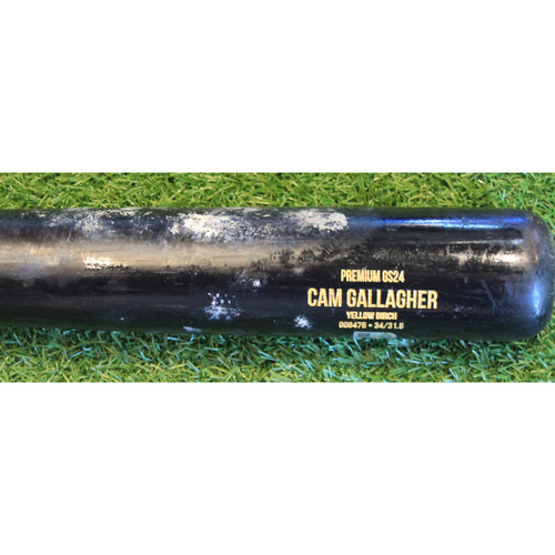 Photo of Team-Issued Bat: Cam Gallagher