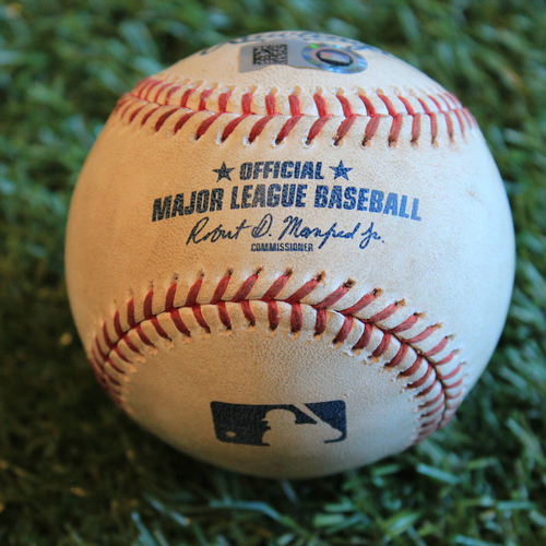 Photo of Game-Used Baseball: Spencer Turnbull Pitched Strikeout (DET @ KC - 6/11/19)