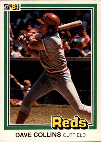 Photo of 1981 Donruss #185 Dave Collins