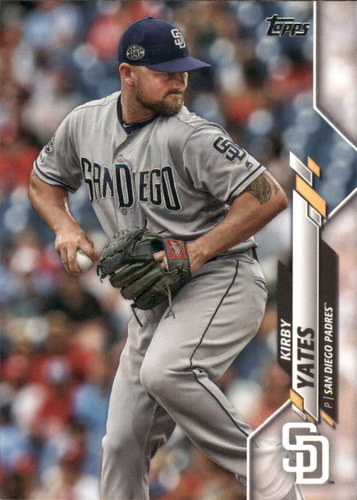Photo of 2020 Topps #25 Kirby Yates