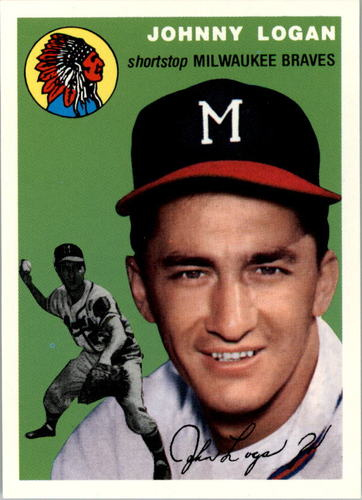 Photo of 1994 Topps Archives '54 #122 Johnny Logan