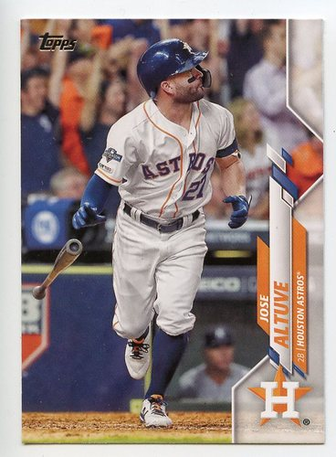 Photo of 2020 Topps #602 Jose Altuve