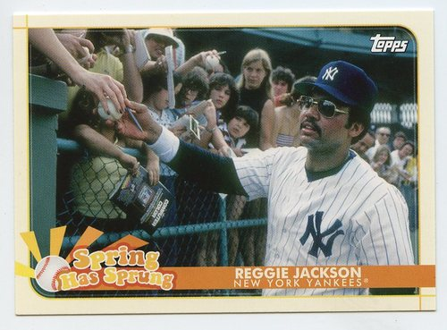 Photo of 2020 Topps Opening Day Spring Has Sprung #SHS7 Reggie Jackson