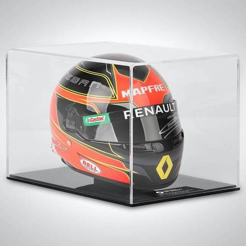 Photo of ESTEBAN OCON 2020 SIGNED 1:2 SCALE HELMET