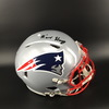 Patriots N'keal Harry Signed Revolution Helmet - This Auction Benefits The Canadian Red Cross