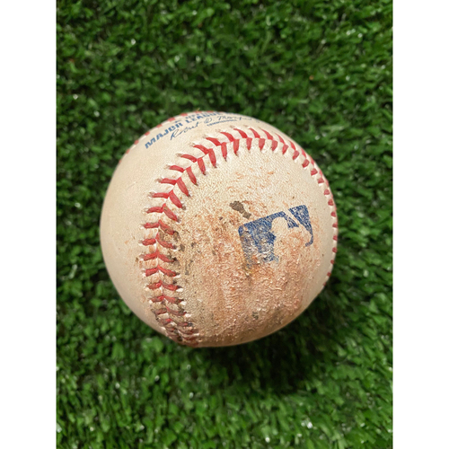 Photo of Jacob deGrom Pitched Ball to Freddie Freeman, 2 Balls and Foul - July 1, 2021