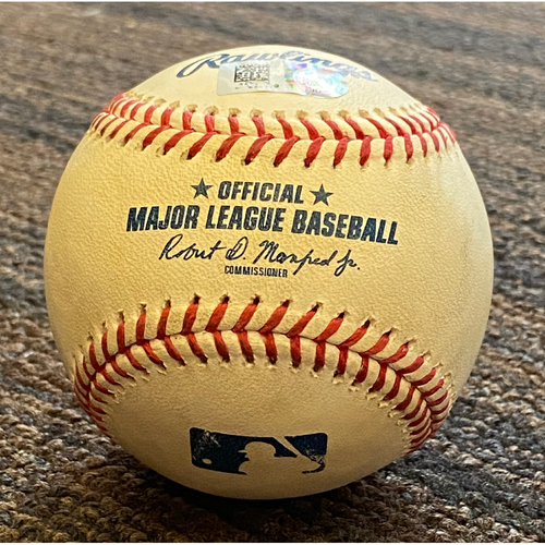 Photo of Liam Hendriks: Baseball - Game Used (Strikeout)