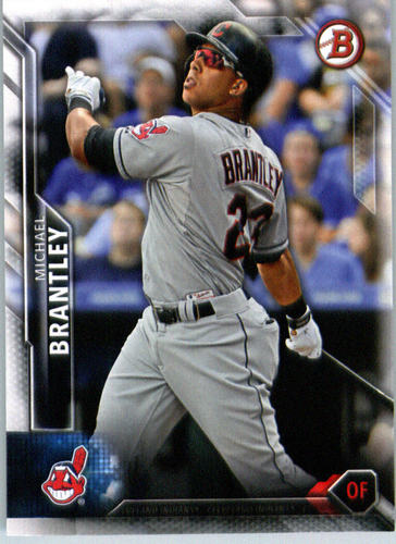 Photo of 2016 Bowman #117 Michael Brantley