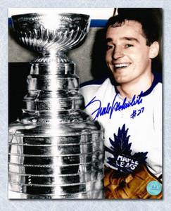10007db0ffd Frank Mahovlich Toronto Maple Leafs Autographed Stanley Cup 16x20  PhotoFrank Mahovlich Toronto Maple Leafs Autographed Stanley Cup 16x20 P..
