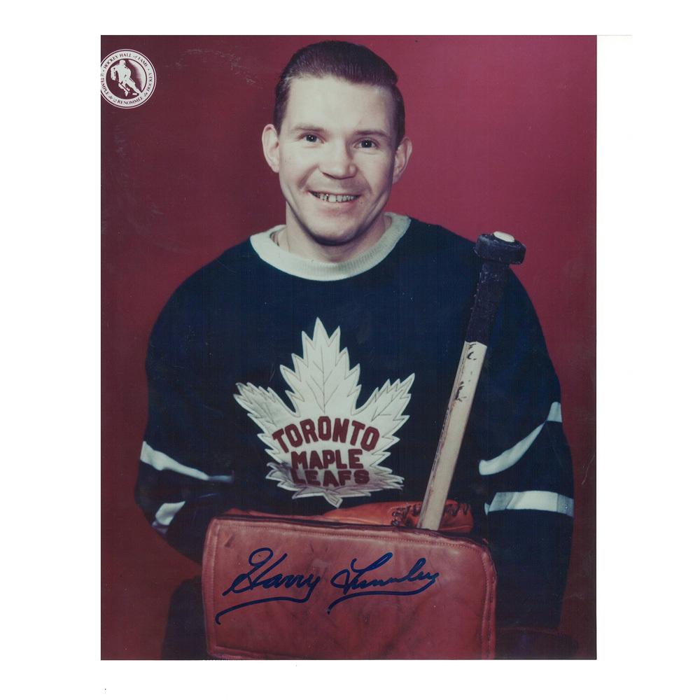 HARRY LUMLEY Signed Toronto Maple Leafs 8 X 10 Photo - 70072