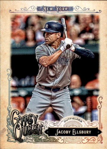 Photo of 2017 Topps Gypsy Queen #39 Jacoby Ellsbury