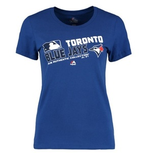 Toronto Blue Jays Women's Plus Size Team Choice T-Shirt by Majestic