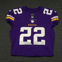 CRUCIAL CATCH - VIKINGS HARRISON SMITH GAME WORN VIKINGS JERSEY (OCTOBER 22, 2017) SIZE 42