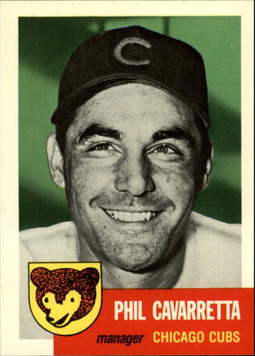 Photo of 1991 Topps Archives 1953 #295 Phil Cavarretta MG