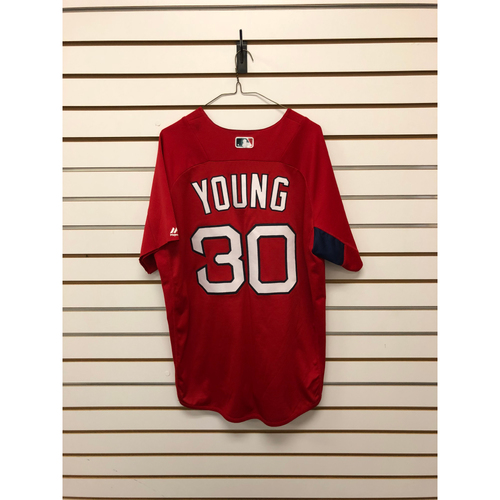 Photo of Chris Young Team-Issued Home Batting Practice Jersey