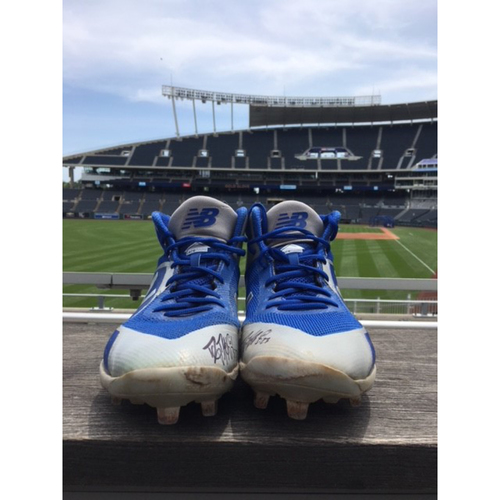 Photo of Danny Duffy Cleats from 06/09/2018 Start (Non-Authenticated)